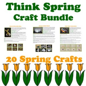 Crafty Critters: Think Spring Craft Bundle