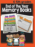 End of the Year Activities- Memory Book