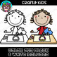 Crafty Kids Clipart {Scrappin Doodles Clipart}