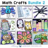 Crafty Math Bundle 2 - Ten Simple No Prep Math Crafts