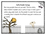 Crafty Pumpkin Carvings