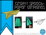 Crafty Speech - Paper Airplanes