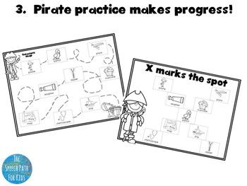 Crafty Speech - Pirate Maps