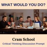 Cram School Critical Thinking Activity