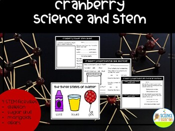 Cranberry STEM and Science Pack