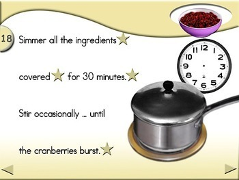 Cranberry Sauce - Animated Step-by-Step Recipe