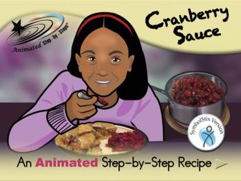 Cranberry Sauce - Animated Step-by-Step Recipe SymbolStix