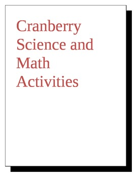 Cranberry Science Stations