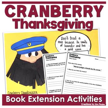 Cranberry Thanksgiving Activities