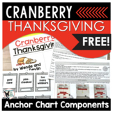 Cranberry Thanksgiving Anchor Chart Components