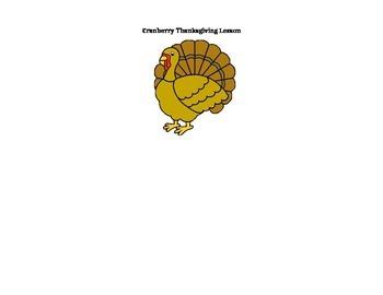 Cranberry Thanksgiving Lesson Plan