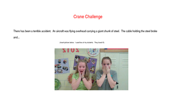 Crane Challenge- Engineering a Solution