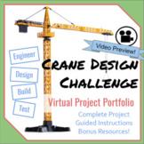 Crane Design Project- Virtual Portfolio for Science, Tech-