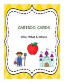 Cranium Cariboo WH Question Cards
