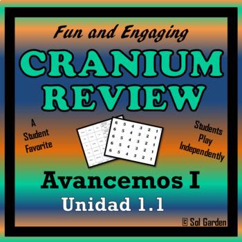 Cranium - Fun Review for Avancemos 1 - Unit 1 Lesson 1