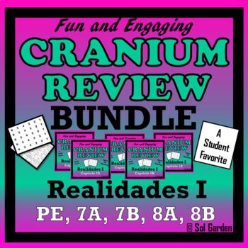 Realidades I - Cranium Review Bundle - Prelim, 7A, 7B, 8A, 8B -