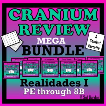 Realidades I - Cranium Review Bundle - Preliminary Chapter through 8B