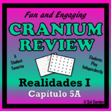 Cranium Review -  Fun Review for Realidades 1, chapter 5A