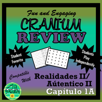 Cranium Review - Fun Review for Realidades II Chapter 1A