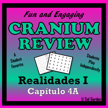 Cranium Review - Realidades I, Chapter 4A