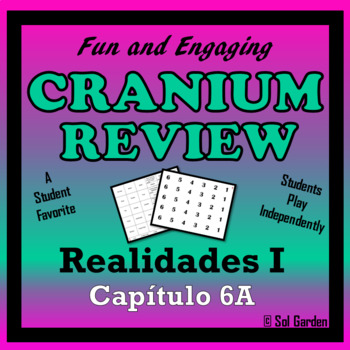 Cranium Review - Realidades I, Chapter 6A