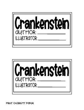Crankenstein Beginning, Middle, & End Craftivity