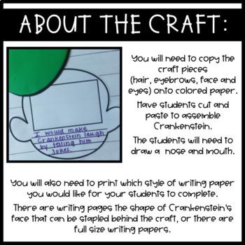 Crankenstein~ Craft and Writing