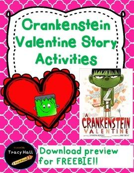 Crankenstein Story Common Core Activities-February