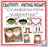 Crankenstein Valentine Holiday Craftivity Writing Prompt