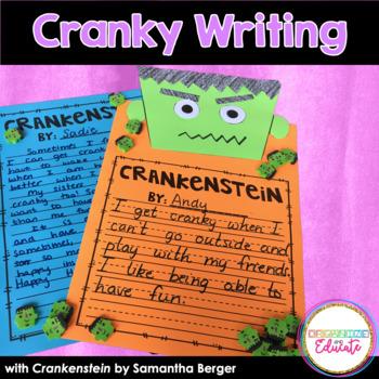 Crankenstein Writing Activity