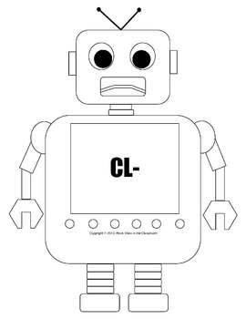 Cl/Cr Word Sort (File Folder Game)