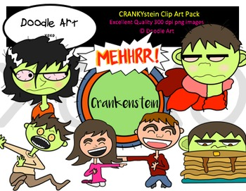 Cranky Clipart Pack