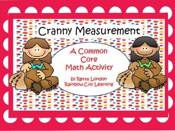 Thanksgiving Math Activity:Cranny Measurement
