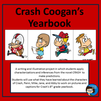Crash Coogan\'s Yearbook by Classroom in the Middle | TpT