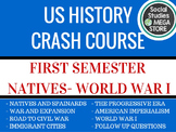 Crash Course First semester US History