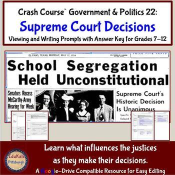 Crash Course Government & Politics 22: Judicial Decisions