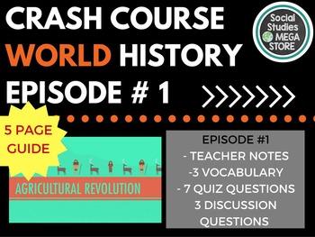 Crash Course Agricultural Revolution Ep. 1