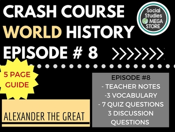 Crash Course Alexander the Great Ep. 8