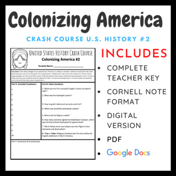 Crash Course U.S. History: American Colonization #2