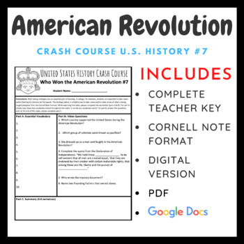 Crash Course U.S. History: American Revolution #7
