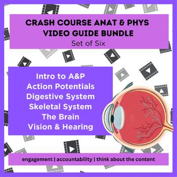 Crash Course Anatomy WAL (write-a-long) Bundle