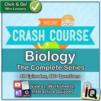 Crash Course Biology - Complete Series, Bundle   Biology Distance Learning