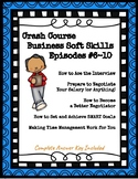 Crash Course Business Soft/Life Skills #6-10 (Interviews, Goals, Time Management