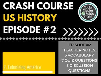 Crash Course Colonizing America Ep. 2