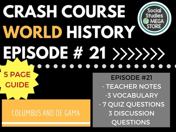 Crash Course Columbus, de Gama, and Zheng He Ep. 21