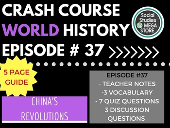 Crash Course Communists, Nationalists, and China's Revolutions Ep. 37