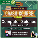 Crash Course Computer Science, Growing Bundle   Digital & Printable