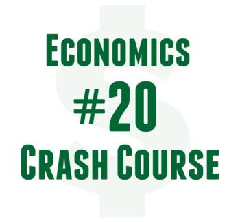 Crash Course Cornell Worksheet Economics #20 Price Controls, Subsidies,