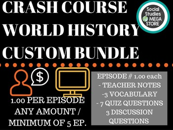 Crash Course Custom Bundle World History
