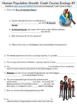 Human Population Worksheet Teaching Resources Teachers Pay Teachers
